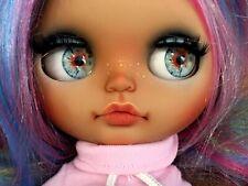 Maravillosa y única muñeca customizada Preciosa BLYTHE Custom Original Cute Doll