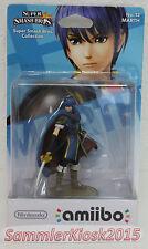 Marth Nintendo Amiibo Figur No. 12 - Super Smash Bros. Neu OVP WIIU