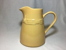 Longaberger Woven Traditions Butternut Yellow Cottage Pitcher 88 oz.