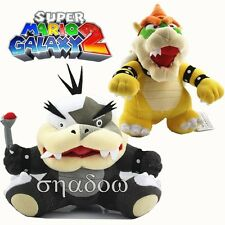 Super Mario Bros. Morton Koopa Jr Standing King Bowser Koopa Stuffed Plush Doll