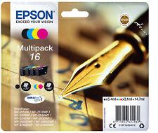 Epson 16 T162640 Ink Cartridge - Black, Cyan, Yellow, Magenta
