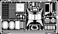 PHOTO-ETCHED SET M3A1 STUART INTERIOR, FOR ACADEMY KIT 1/35 EDUARD 35541