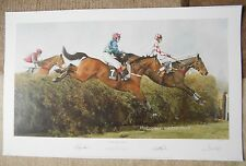 Rough Quest Signed Print From Bechers to Victory + Head Portrait Grand National