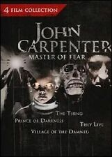 JOHN CARPENTER MASTER OF FEAR COLLECTION DVD MOVIE *NEW* AUS EXPRESS THEY LIVE