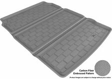 For 2011-2016 BMW 5 SERIES Cargo Liner Carbon Pattern Gray All Weather Floor Mat