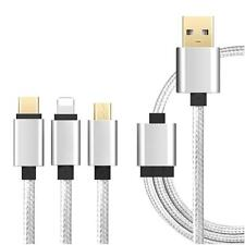 MULTI USE charger cable USB Data charging multiple devices For iPhone Android