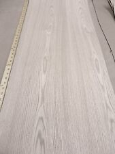 """Red Oak wood veneer 18"""" x 48"""" with paper backer 1/40th"""" thickness """"A"""" grade"""