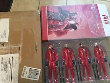 ThreeA Ashley Wood 1/6 Popbot TKYO RED Set 4 TKs
