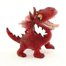 Miniature Red Dragon Smiling 4531 Fairy Garden