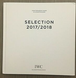 IWC Schaffhausen 2017/2018 Catalog