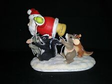 Charming Tails by Dean Griff, # 87/708, The Santa Balloon Figurine - Used