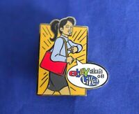 ebay Live 2008 Chicago Hannah Handbag Hero Collector Lapel Hat Pin