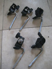 5 Roland tom clamps cymbal rack mounts