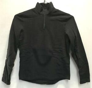 Hot Chillys Youth Pepper Fleece Unisex Base Layer Top Black Size Kids Large NEW