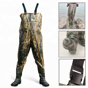 Waterproof Waders Camouflage for Fishing Leisure Water Gardening or Agriculture