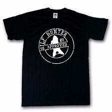 Milfhunter Funshirt T-Shirt schwarz 100% Cotton S-XXXXXL
