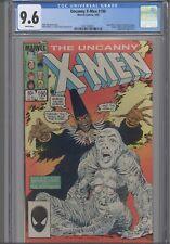 Uncanny X-Men #190 CGC 9.6 1985 Spider-Man, Avengers, Dr Strange App: New Frame