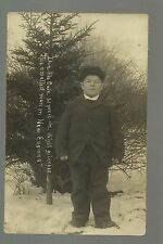 Ludlow VERMONT RP 1907 SMALLEST MAN IN NEW ENGLAND Midget Dwarf Little Person