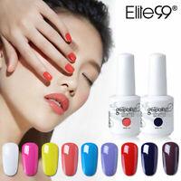 Soak Off Elite99 Color Gel Nail Polish Lacquer Base Top Coat 15ML Manicure Salon