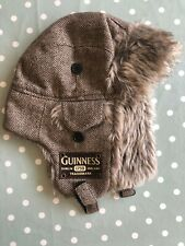 More details for guinness aviator hat - extremely warm - extremely good condition!