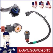 "Knock Sensor w 14 "" Wiring Harness For Nissan 200SX 240SX 300ZX Infiniti G20 I30"