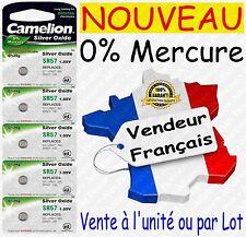 Piles/Battery Oxyde d'Argent 1,55V 0%25 Mercure pour Montre : SR59W G2 396 SR726