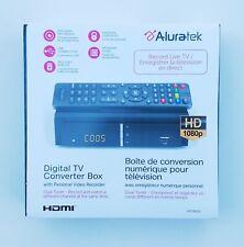 Aluratek Digital Tv Converter Box With Pvr Personal Video Recorder Hd 1080p Hdmi