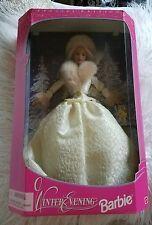 Beautiful in Original Box1998 Special Edition Winter Evening Barbie Mattel 19218