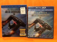 Star Trek Into Darkness 3D(Blu-ray/DVD, 3-Disc Set+ Digital Copy w/ 3D SLIPCOVER
