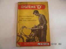 SYSTEME D N°125 05/1956 CYCLOMOTEUR ET SCIE PRESSE A CIDRE TABLE BASSE   D44