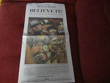 1, Lebron James Newspapers, June 20, 2016 Cavs are NBA CHAMPIONS!!!