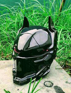 New Helmet Custom Batman Arkham  For Motorcycle ( APPROVED DOT/ECE )