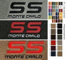 Lloyd Mats Chevrolet Monte Carlo SS Custom Velourtex Floor Mats (1983-1988)