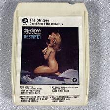 The Stripper David Rose & His Orchestra 8 Track Cassette Cartridge