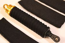 Iron track/Himoto 1/10 Bowie Katana Tanto Spatha Shock Covers Socks BLACK 4ps