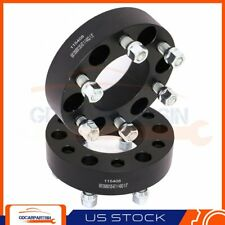 """(2) 1.5"""" Wheel Spacers 6x135 to 6x135 14x2 Studs For Ford Expedition F-150 2014"""