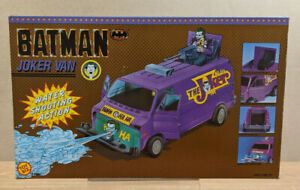 ToyBiz Batman Batman Joker Van Vehicle - Sealed - Vintage
