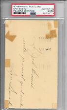 Sam Snead Postcard Auto PSA/DNA - 3 Time Masters Champion - '51 Signature