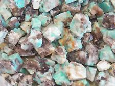 1 lb AMAZONITE Rough Rock Stones for Tumbling tumbler from BRAZIL  FS