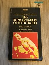 The Reincarnation of Peter Proud by Ehrlich, Max Paperback 1975