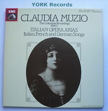 EX 29 0163 3 - CLAUDIA MUZIO - The Columbia Recordings - Ex 2 LP Record Box Set