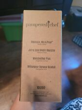 Pampered Chef Measure Mix and Pour Nib 100190 White Gray Clear