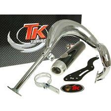 exhaust Turbo Kit Bajo RQ chrome E-marked for Suzuki Street Magic