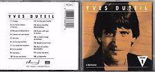 CD 18 TITRES YVES DUTEIL L'INTÉGRALE VOLUME 1 L'ÉCRITOIRE DE 1989 FRANCE TBE