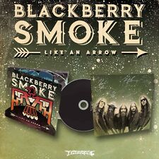 BLACKBERRY SMOKE LIKE AN ARROW CD ALBUM (October 14th, 2016) + signed photo