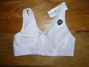 Marks & Spencer S New Pink unPadded Non padded Non wired Lounge Sports Bra 8 10