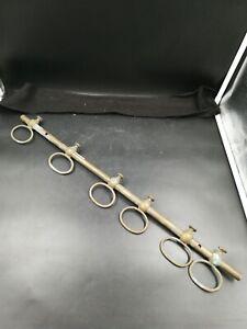 unique steampunk Porte-Serviettes-Cuivre Vintage industrielle fait main courbés 22 mm