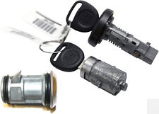 GM OEM Ignition Switch Lock Cylinder + OEM Door Lock Cylinder W/2 GM Logo Keys