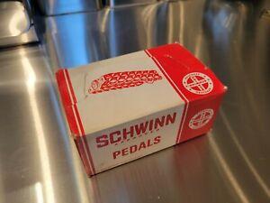 Schwinn Stingray short Waffle Pedals 1967 Nos