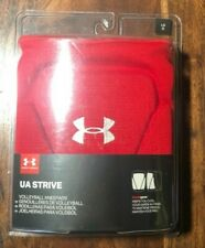 Under Armour Ua Strive Volleyball Kneepads 1290868 Unisex Size Large Nwt Red
